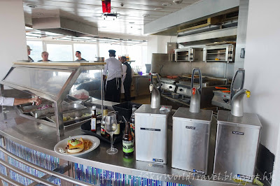 Celebrity Infinity, 餐廳, 食物, meals, food, Treliss Restaurant, Hamburger Corner, Ocean View Cafe