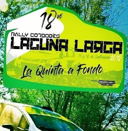 RALLY DE LAGUNA LARGA EN CORDOBA