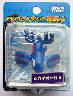 Kyogre figure Takara Tomy Monster Collection Battle Scene series