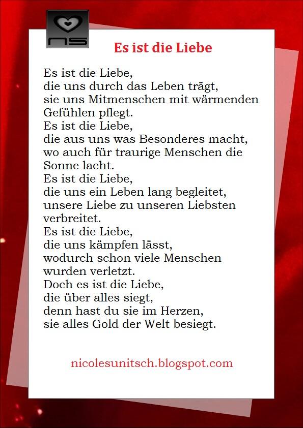 Gedicht das ist liebe - Weihnachten in Europa