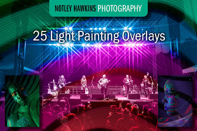 Notley Hawkins Photography, Etsy, Photoshop Overlay, Light Painting