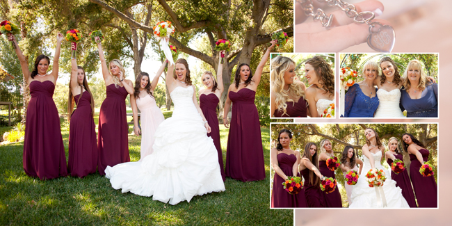 Westlake Village Inn, CA Wedding - Central Coast Wedding Photographer - Wedding Album - Studio 101 West, Atascadero CA