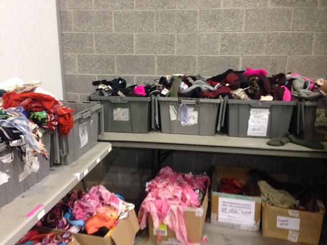Aritzia Warehouse Sale 2017 scarves mittens