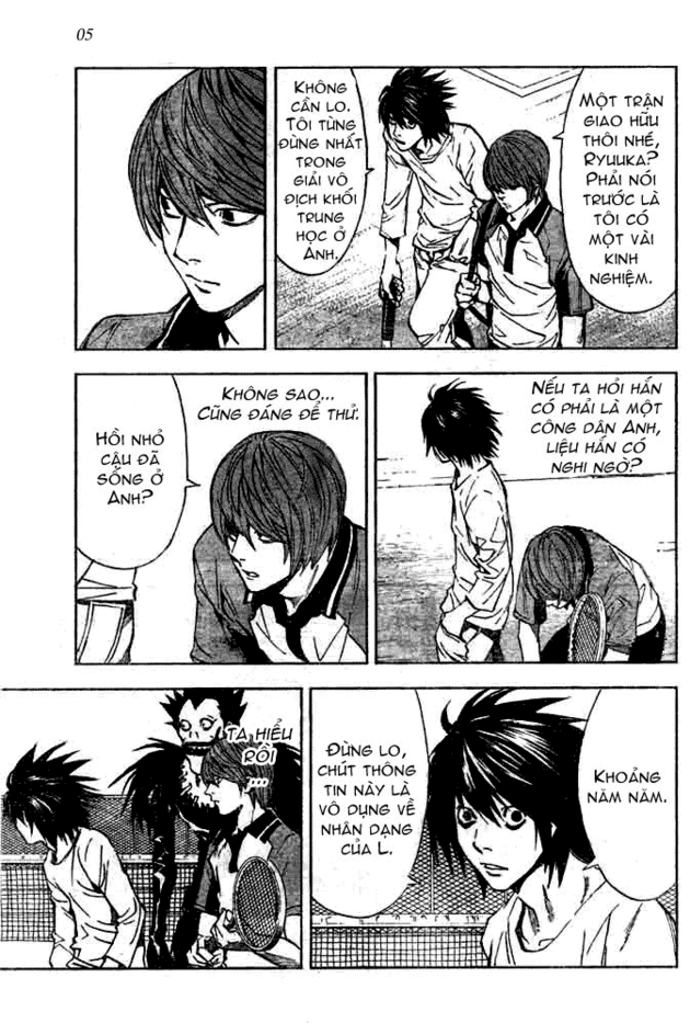 Death Note chapter 020 trang 6