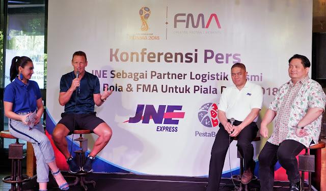 jne fma dan pesta bola bekerjasama dalam piala dunia 2018