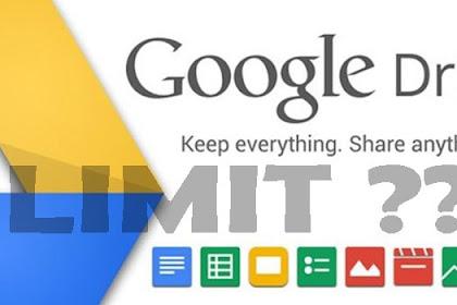 Cara Mengatasi Download File Google Drive Limit