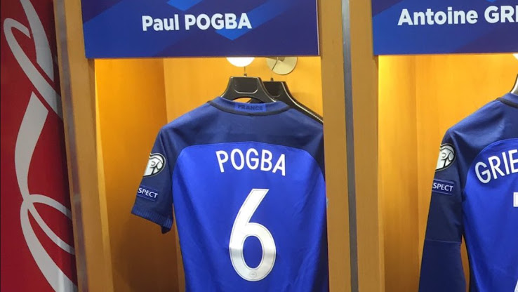 Paul Pogba Switches Shirt Number - Footy Headlines 082ff7619