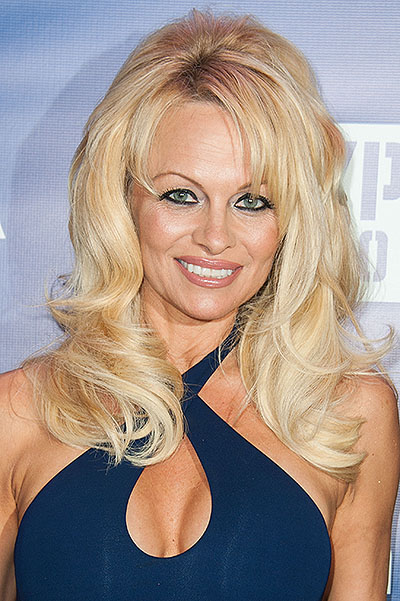 Pamela Anderson about experiments with Botox