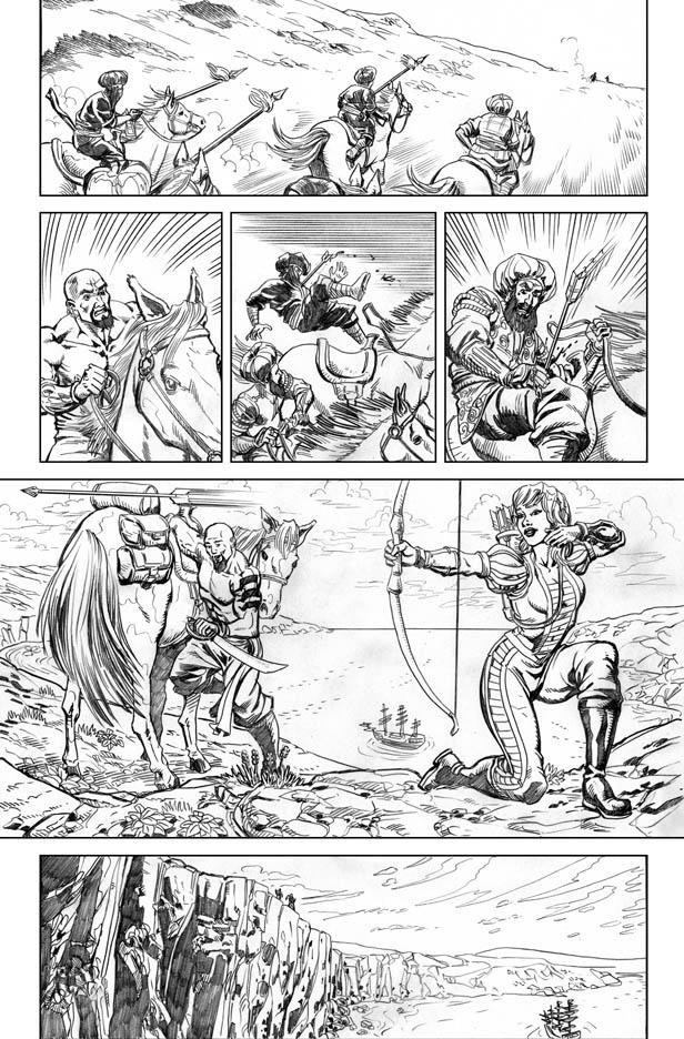 Shamus Beyale's Art: Zenescope Entertainment's Grimm Fairy Tales
