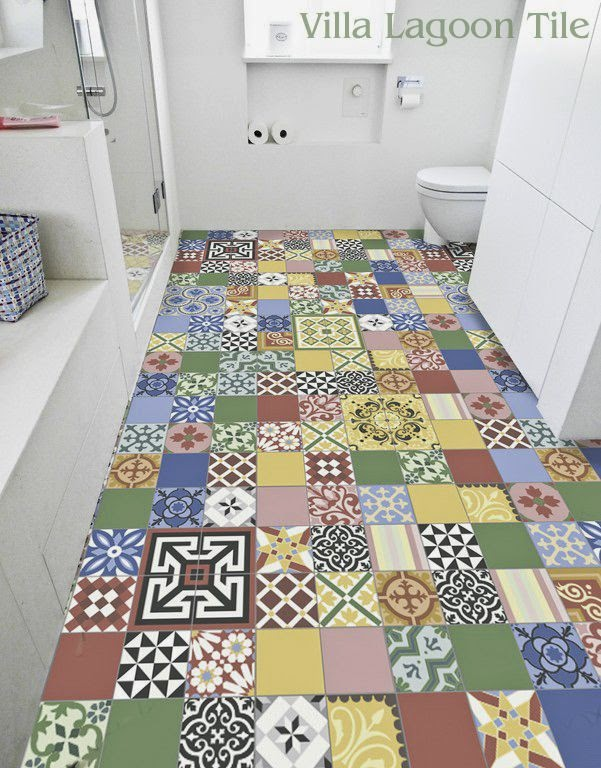 Bright Colored Floor Tiles   Migrant Resource Network Bright Coloured Bathroom Tiles With Original Innovation In South