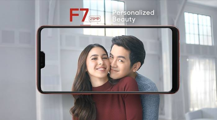 OPPO F7 Officially Introduces by JoshLia; 25MP AI-Powered Selfie for Php17,990