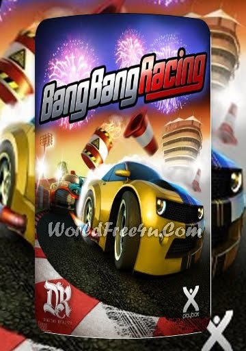 Cover Of Bang Bang Racing Full Latest Version PC Game Free Download Mediafire Links At worldofree.co