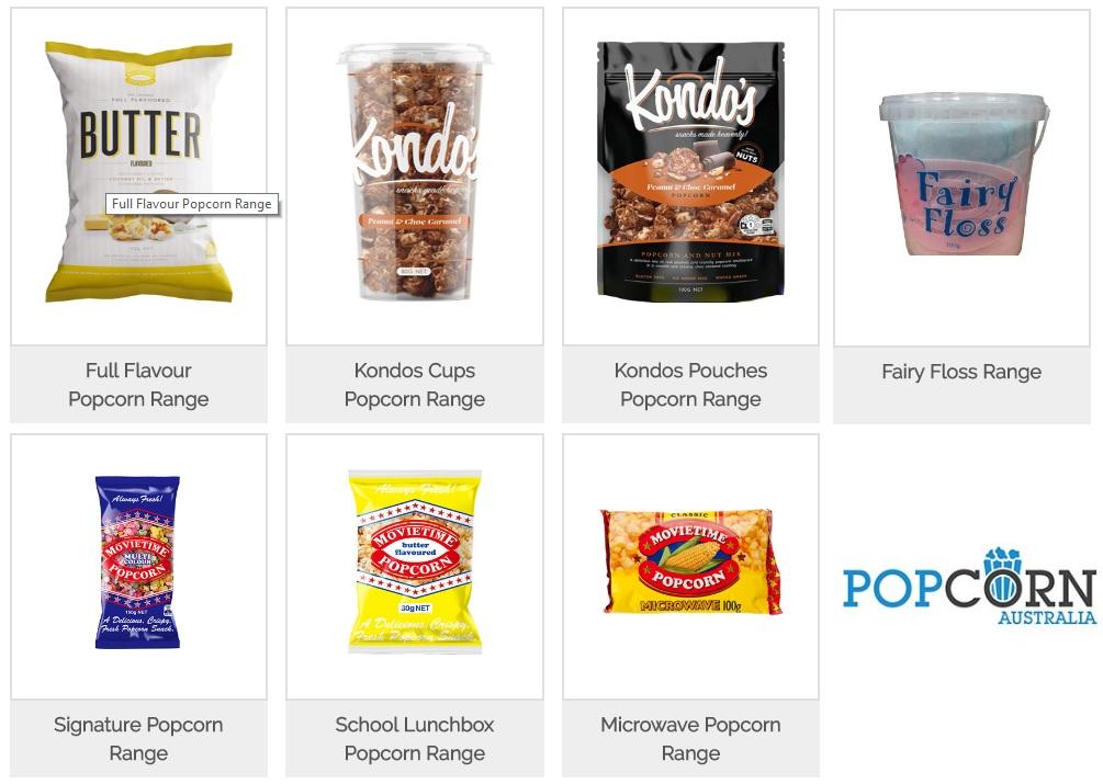 Buy Popcorn Online - popcorn.com.au