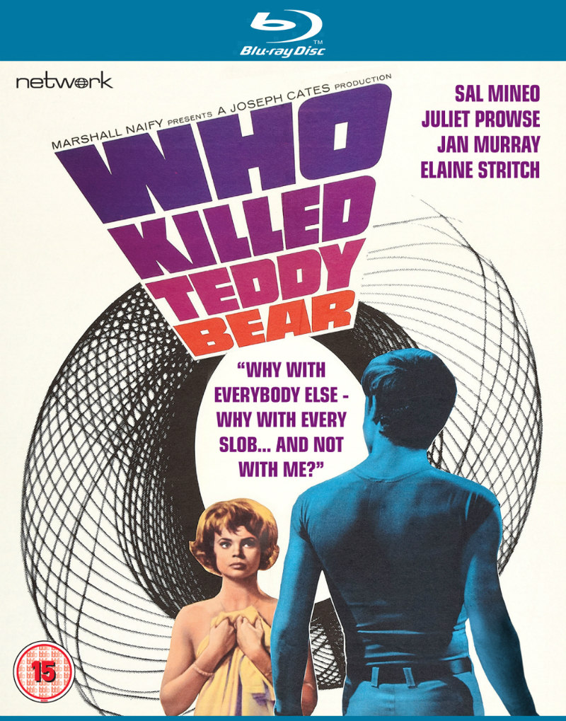 WHO KILLED TEDDY BEAR bluray