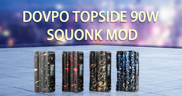 Cheap dovpo topside 90w squonk mod new colors