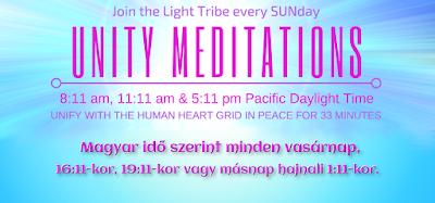 Globális Egység Meditációk minden vasárnap Sandra Walterrel