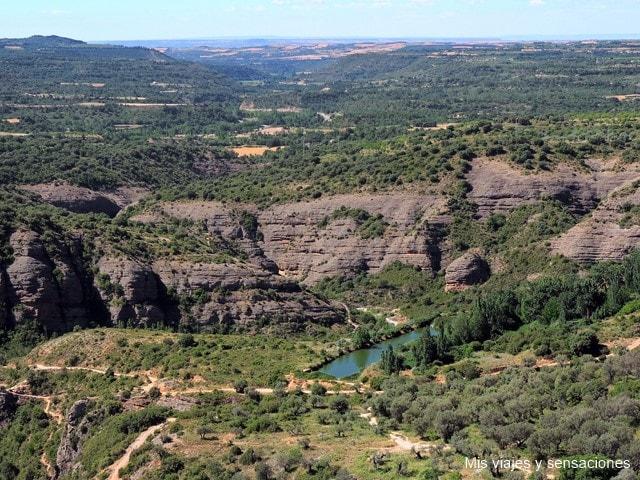 Mirador sobre el río Vero, Alqúezar
