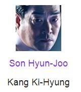 Son Hyun-Joo berperan sebagai Kang Ki-Hyung