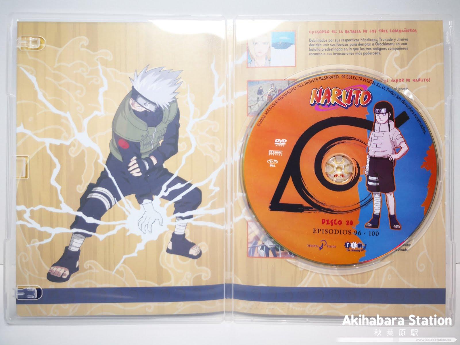 Naruto DVD BOX 4 Selecta Vision