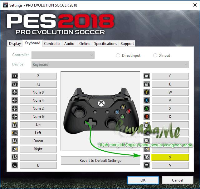 Cara Menonaktifkan Live Update PES