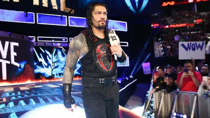 Roman reign while he is being booed HD Wallpapers