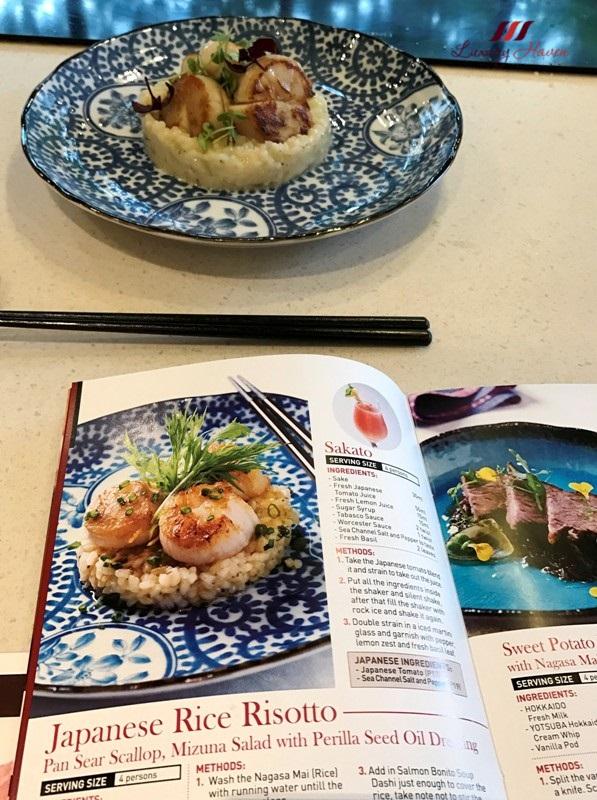 jetro infuse culinaryon japanese risotto hokkaido scallops