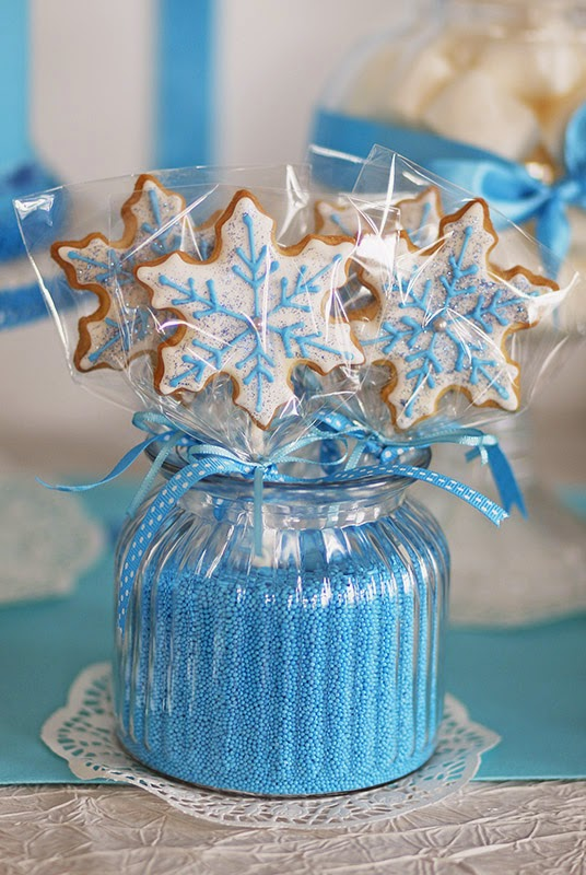 Frozen wand cookie