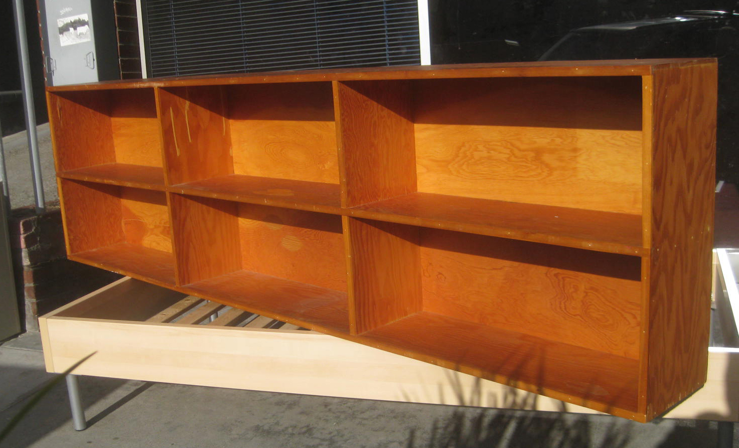 Low And Long Bookshelf