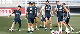 Asi se desarollo el tercer dia de pretemporada del Real Madrid