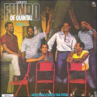 CD Fundo de Quintal - Nos Pagodes Da Vida 1983