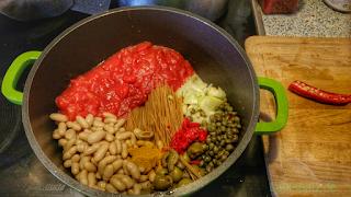 One Pot Pasta Vegan Zutaten