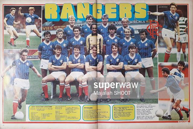 TEAM RANGERS 1984