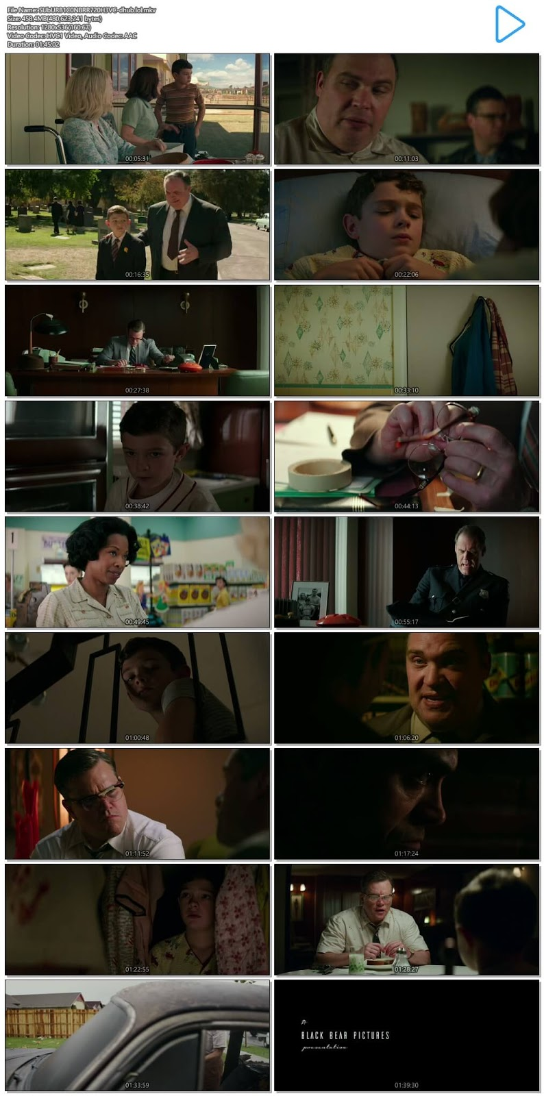 Suburbicon 2017 English 720p HEVC BRRip ESubs