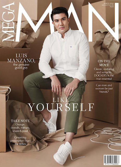 Luis Manzano Mega Man March 2016 Cover