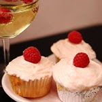 Pink Champagne<br />Cupcakes