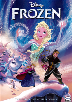 Truyện tranh Frozen - Nữ Hoàng Băng Giá