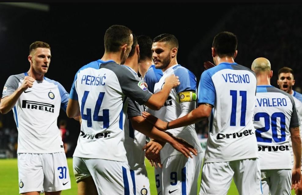Cagliari-Inter 1-3: doppietta Icardi e sorpasso Napoli | Calcio Serie A