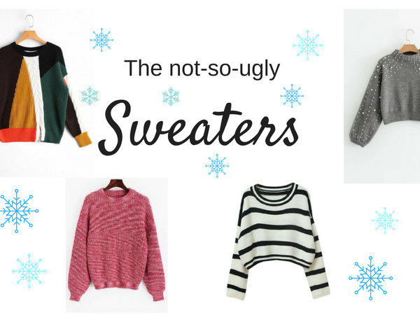 The not-so-ugly sweaters