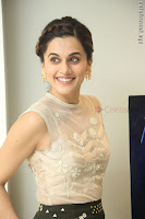 Taapsee Pannu in transparent top at Anando hma theatrical trailer launch ~  Exclusive 030.JPG