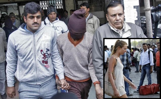 gang rape spree of tourists in India