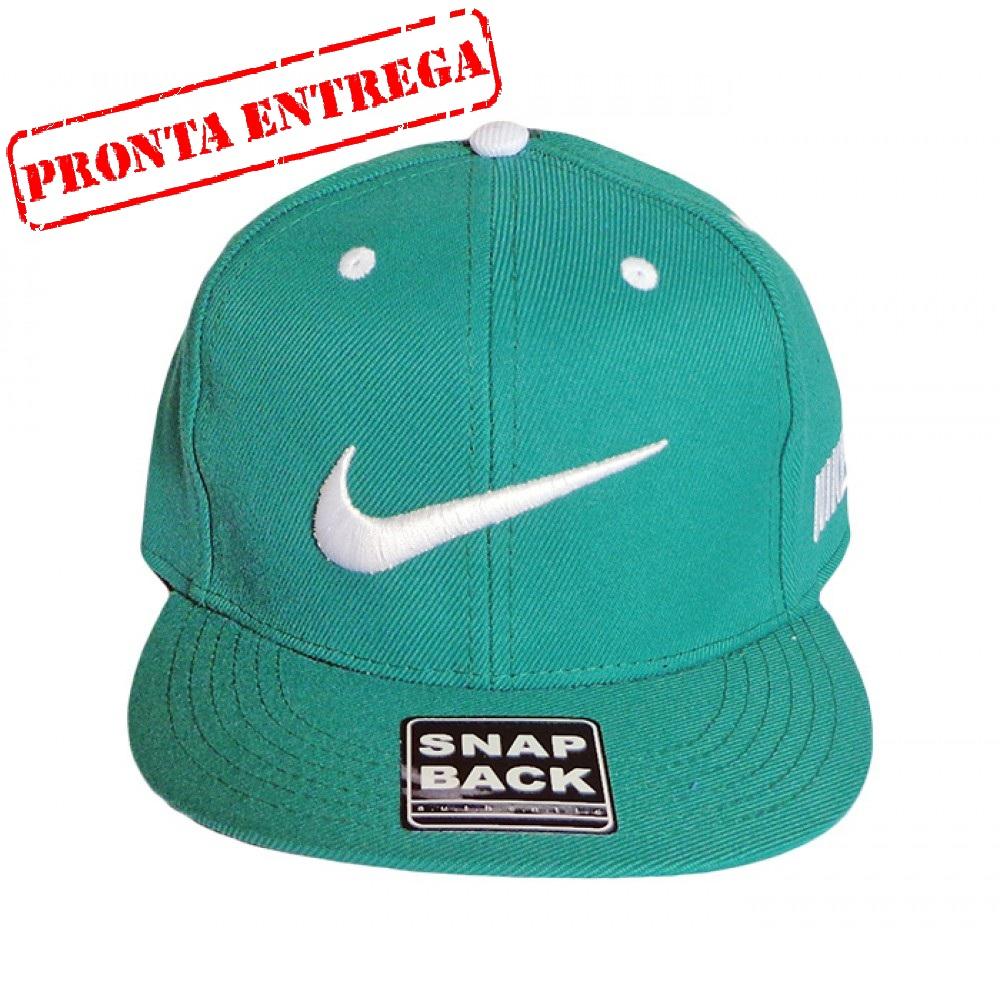96eddb1ba2c45 Boné Aba Reta Nike Verde