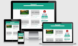 Agregrid Blogger Template