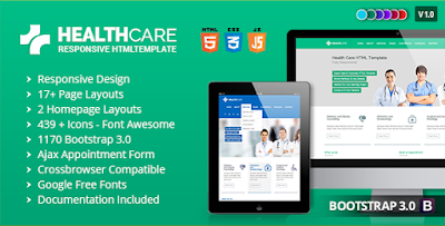 Html Health Insurance Template
