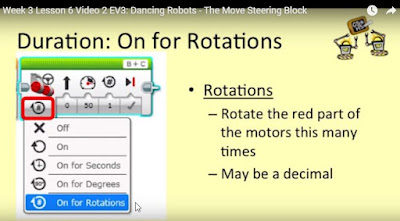 Mindstorms move steering block on for rotation