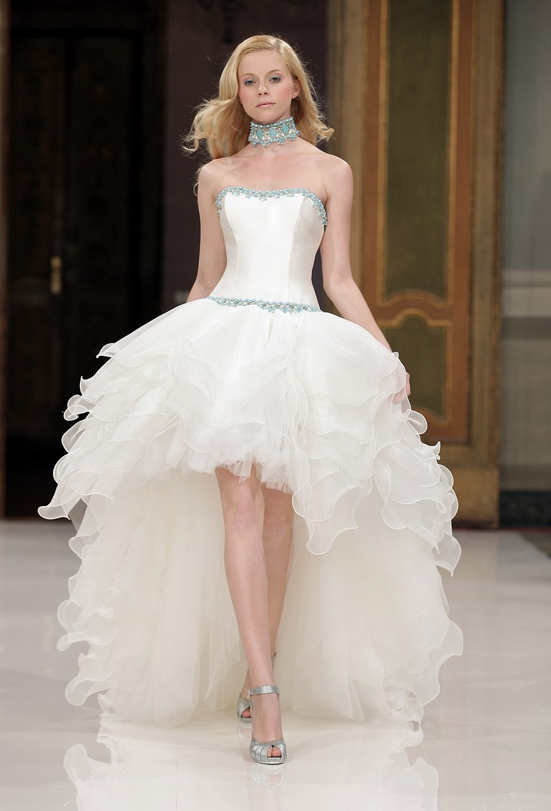 2016 wedding dresses and trends high low wedding dresses for Wedding dresses in la