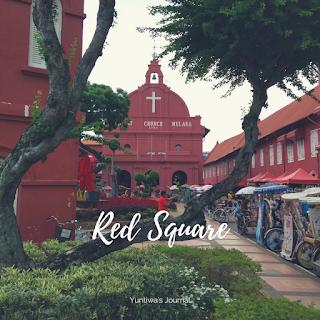 tempat wisata menarik di Melaka - Bangunan Merah Stadthuys