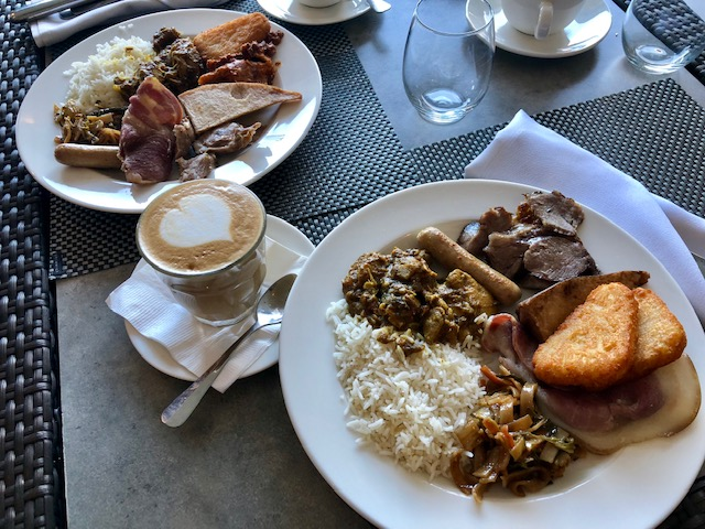 InterContinental Fiji Breakfast