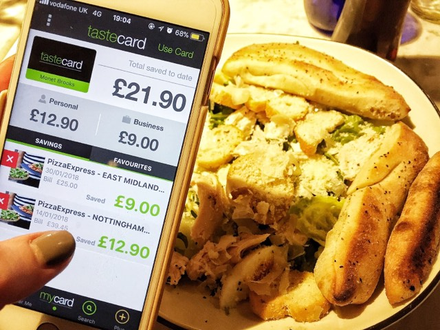 Life With A TasteCard.