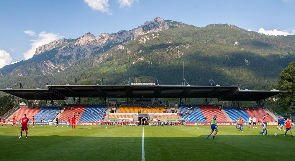 rheinpark stadion vaduz italia liechtenstein