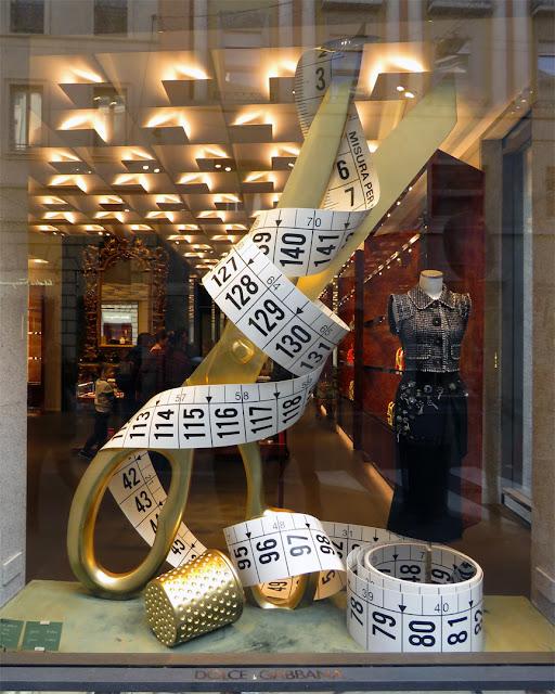 Dolce & Gabbana boutique, Via Monte Napoleone, Milano